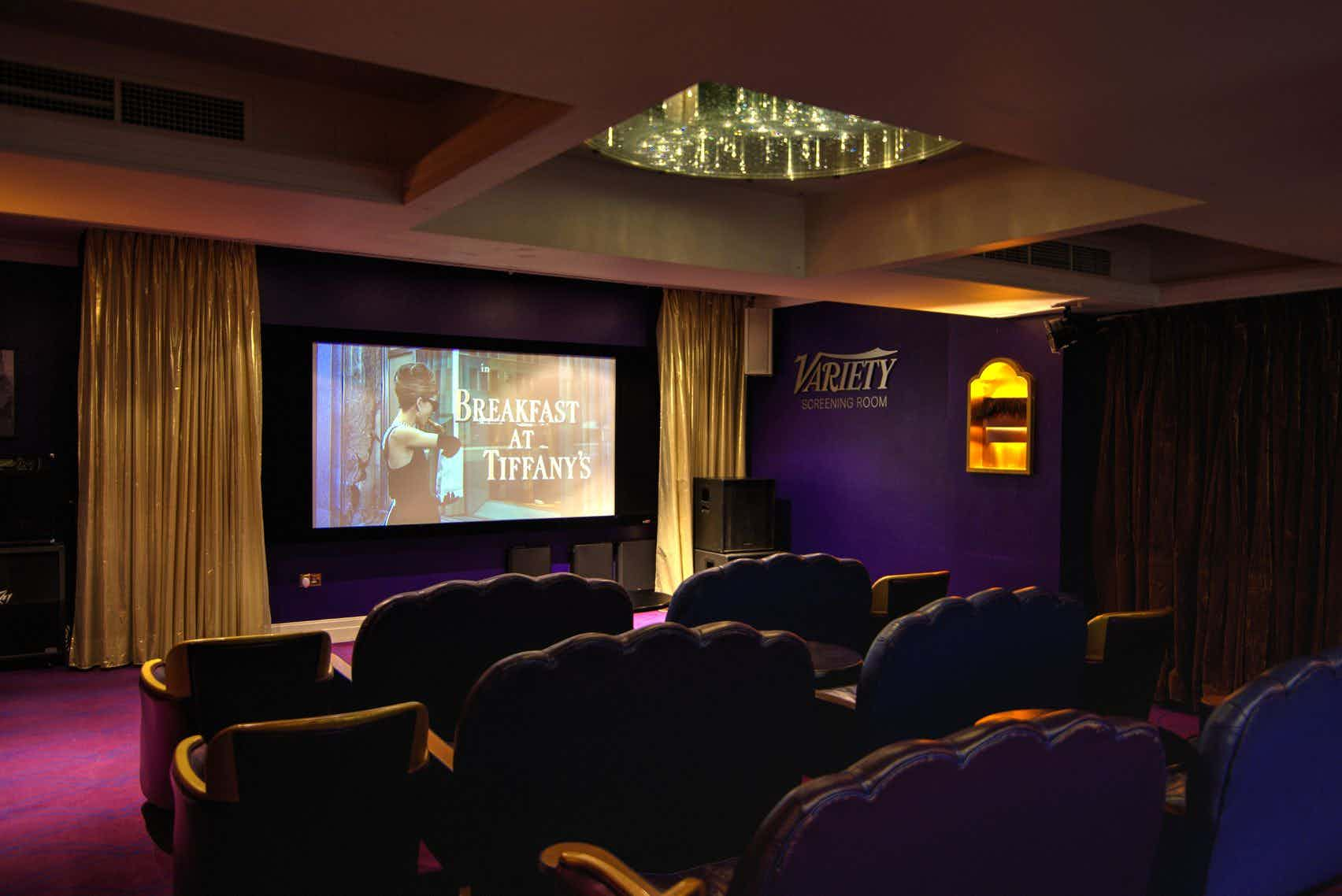 new style a3977 93803 Book The Cinema at Karma Sanctum Soho Hotel. A London Venue for Hire –  HeadBox