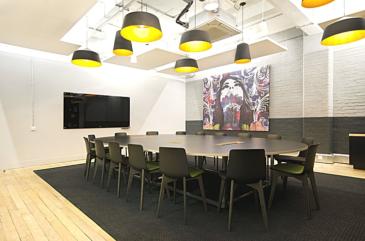 Barclay **Hire the Barclay Room at Workspace Metal Box Factory for one of the best meeting rooms London has to offer.** 