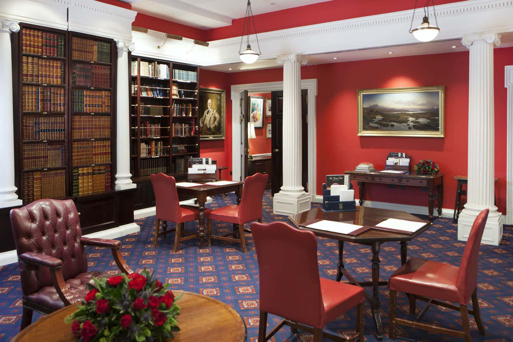The Library, The Caledonian Club