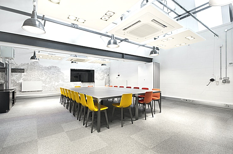 Laser and Electric Combined **The Laser and Electric Combined space is one of the best West London conference venues courtesy of Workspace.** 