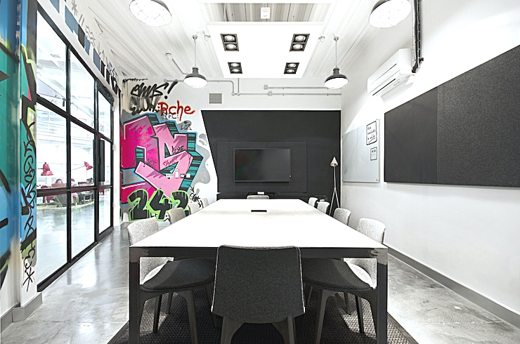 Concrete **Workspace are the proud owner of Westbourne Studios which is the home to some of the best West London meeting rooms.**   Nestled under the Westway in trendy Portobello is Westbourne Studios, with