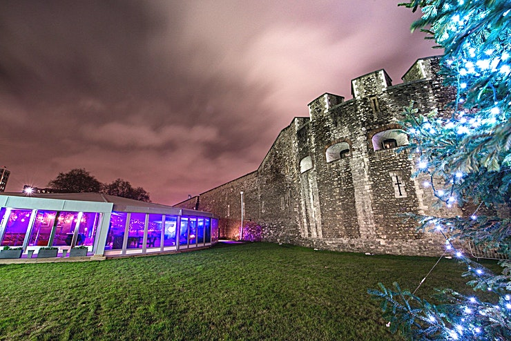 Winter at The Pavilion **Hire The Pavilion at the Tower of London for one of the best party venues London has to offer.**   The Pavilion at the Tower of London is a stunning venue to hire that will really stand out from t