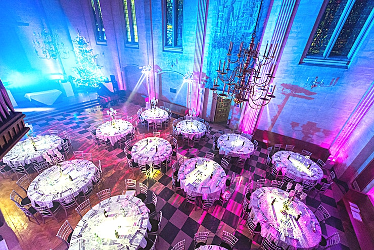 Austin Friars **Hire the Austin Friars venue for a show-stopping party venue to hire in London.**   Austin Friars is a grade II listed building in the heart of the City, just a stone's throw from Liverpool Street