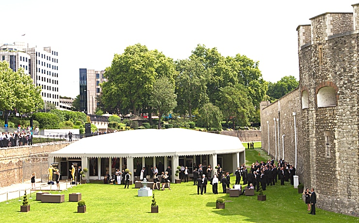 Summer at The Pavilion **Want to hire one of the best summer party venues London has to offer? Welcome to The Pavilion at the iconic Tower of London.** 