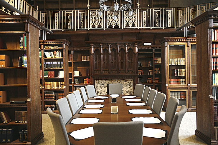 The Library **The Library is one of the best options for venue hire London has to offer at the De Vere venue, Holborn Bars.** 