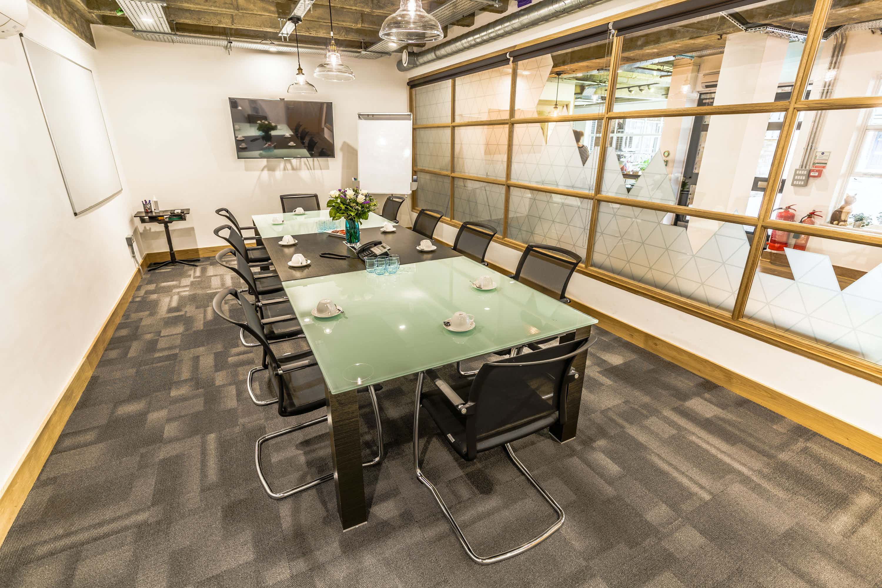 The Glass Room, Proper Office