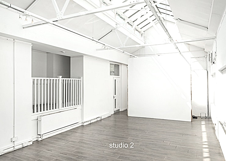 Cre8 Studio studio 2, The Old Baths 4 Film + Photography and Event Studios available for hire. Located in Hackney Wick, East London. The studios also includes car park space, seated client area, cafè and catering available.