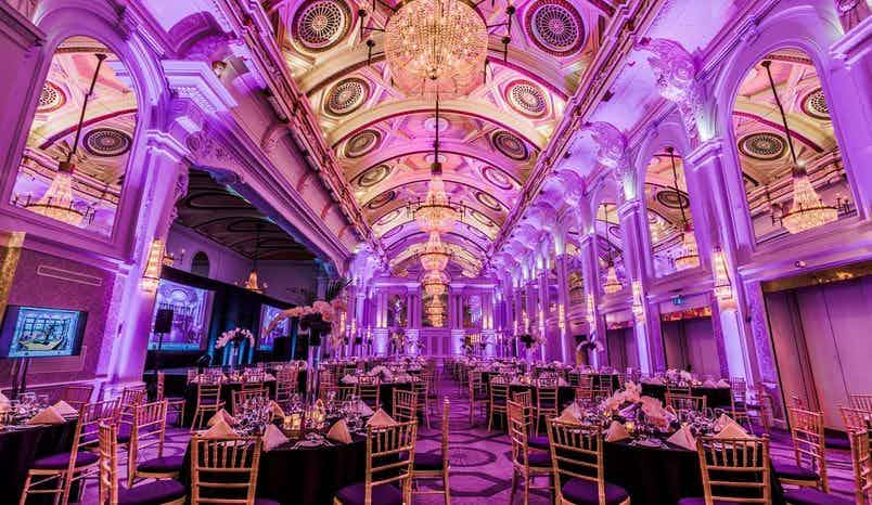 Grand Hall & Balmoral Suite, De Vere Grand Connaught Rooms