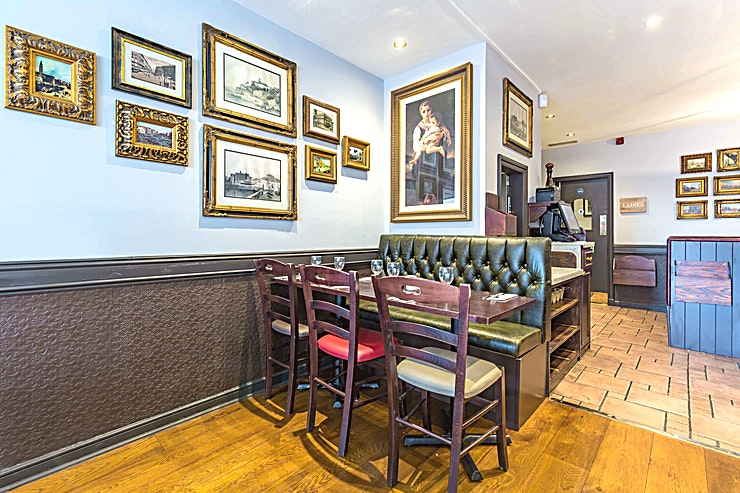 The Messina Room **Just a stone's throw away from some of the world's most famous theatres and landmarks, our Cranbourne Street restaurant offers an authentic experience.**