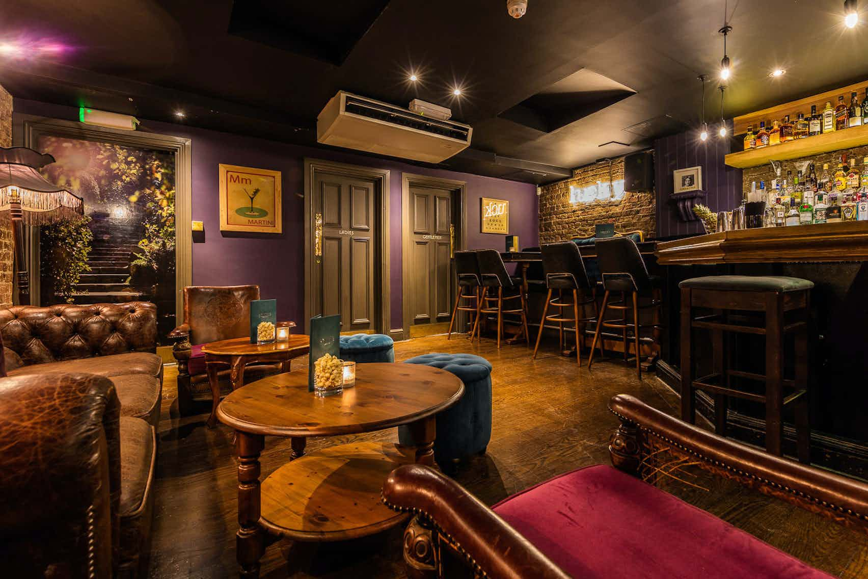 Smith's Cocktail Bar, Brook Green Hotel