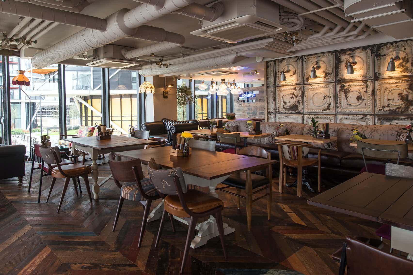 Upstairs Area, Nine Elms Tavern