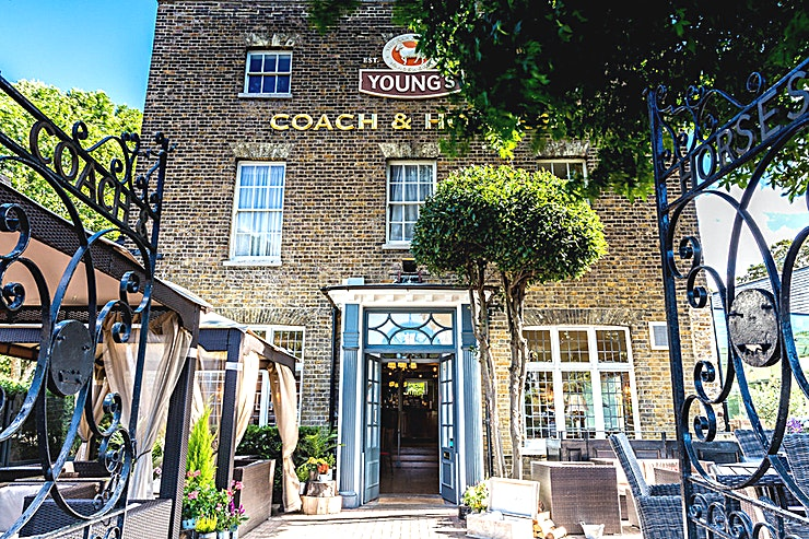 Top Bar **The Top Bar at the Coach & Horses in Isleworth for one of the best options for a party venue to hire!** 