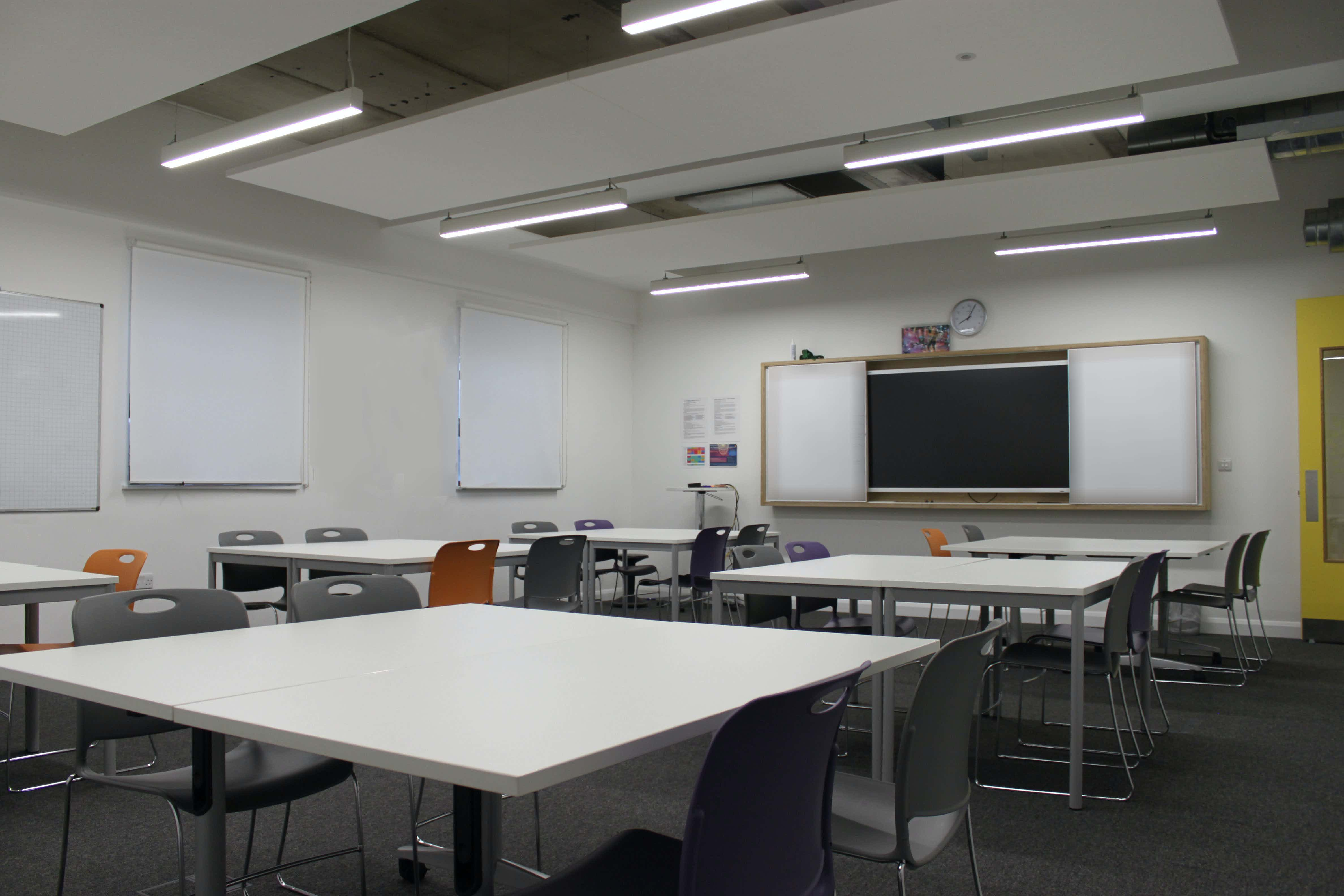 Classrooms: Endeavour / Voyager, Ada National College for Digital Skills