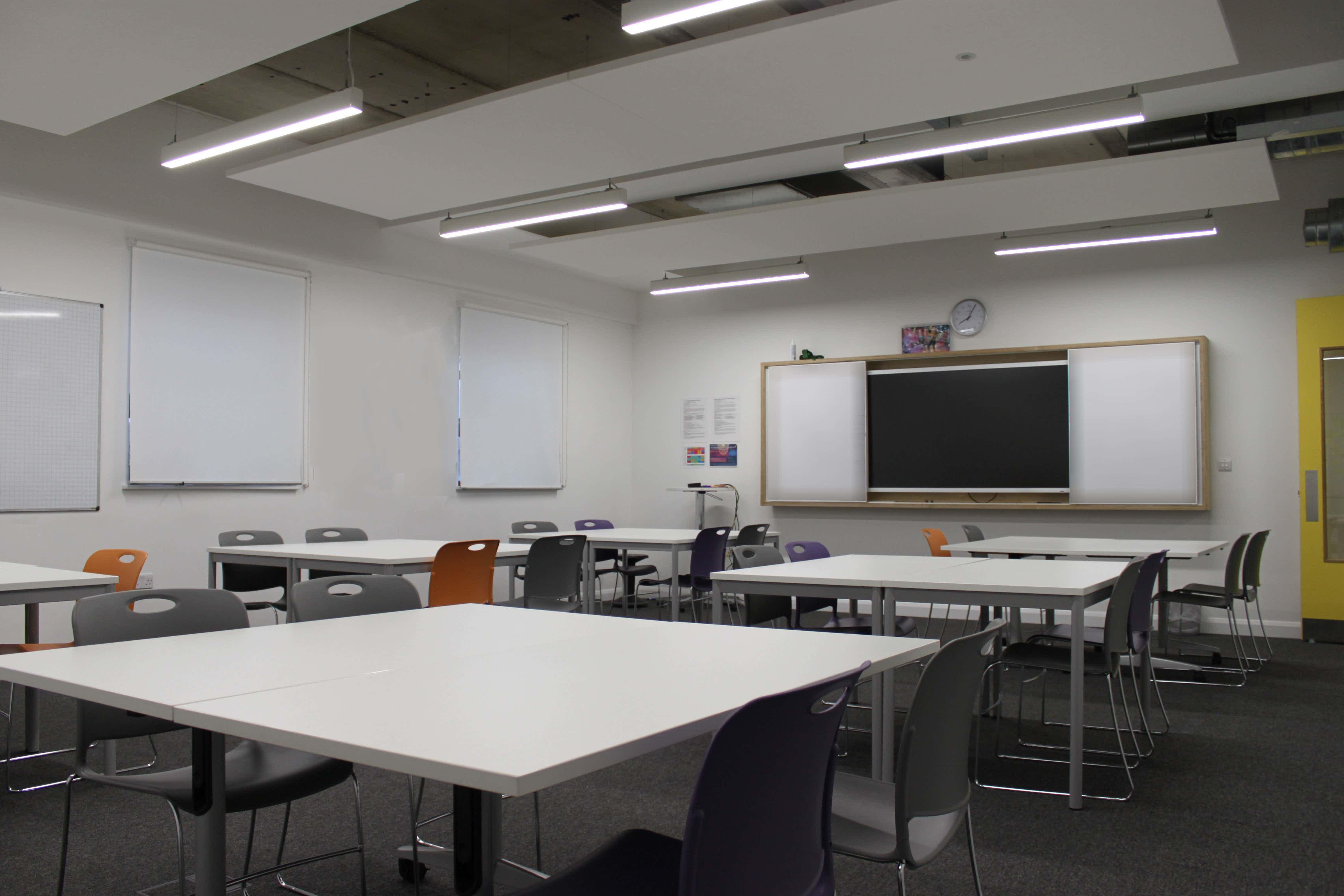 "Classrooms: ""Sputnik"" / ""Pioneer"" , Ada National College for Digital Skills"