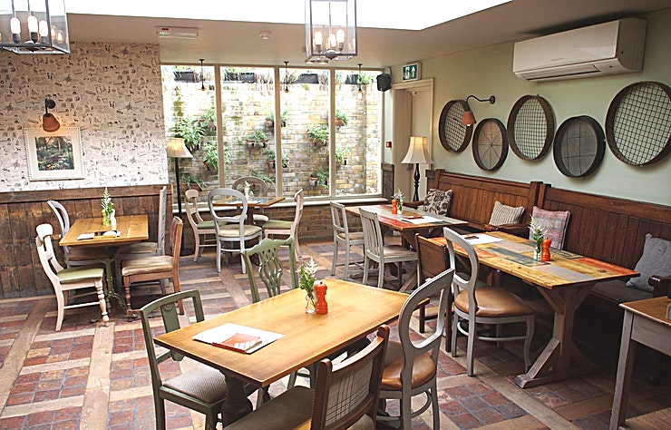 The Orangery **Hire The Orangery at the Coborn pub for a semi private venue hire like no other!** 
