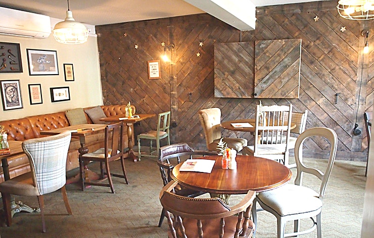 The Snug **Welcome to the Snug at the Coborn pub in East London.**