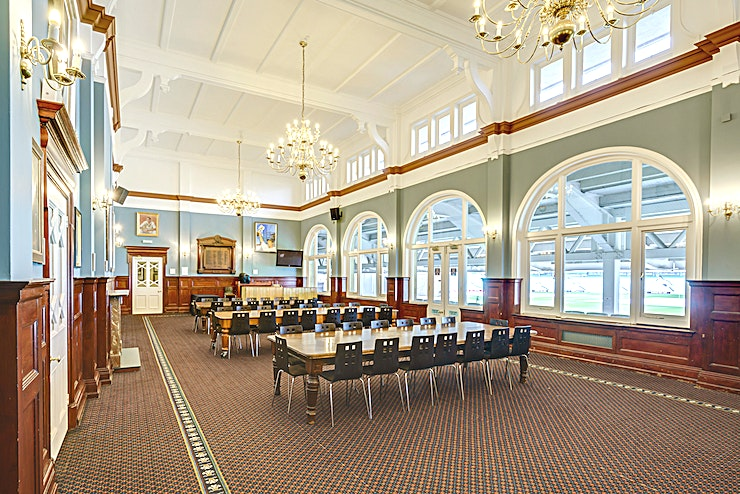 Long Room **The Long Room at the  Kia Oval Cricket Stadium is one of the best options for meeting room London has to offer. Perfect for your next corporate event.** 