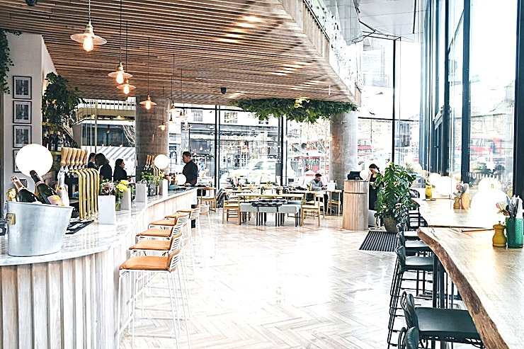 Complete Venue Hire **Welcome to Timmy Green, one of the best options for venue hire London has to offer!**  Timmy Green is an impressive glass walled building set over two floors with an extensive alfresco terrace. Th
