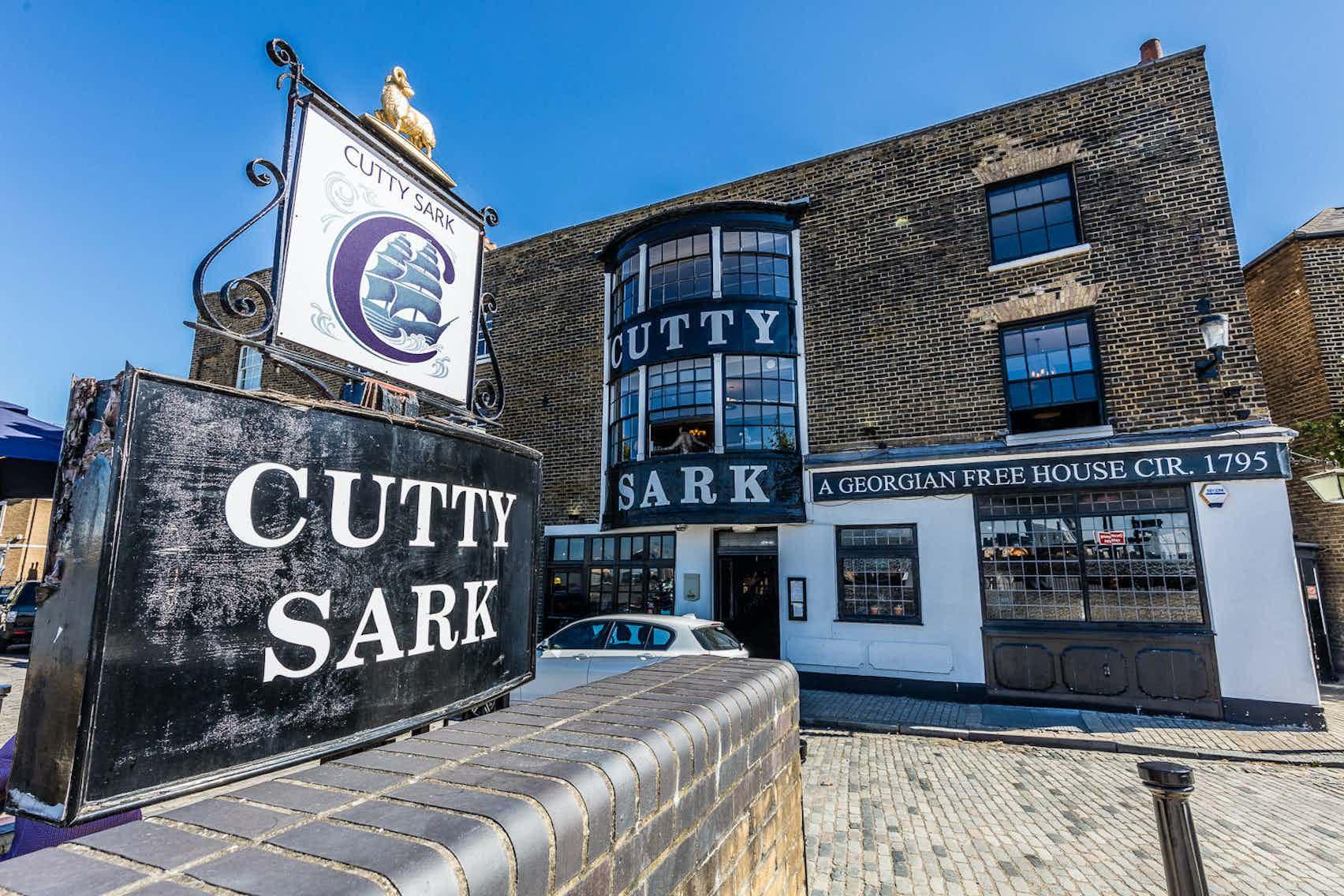 Crow's Nest, Cutty Sark