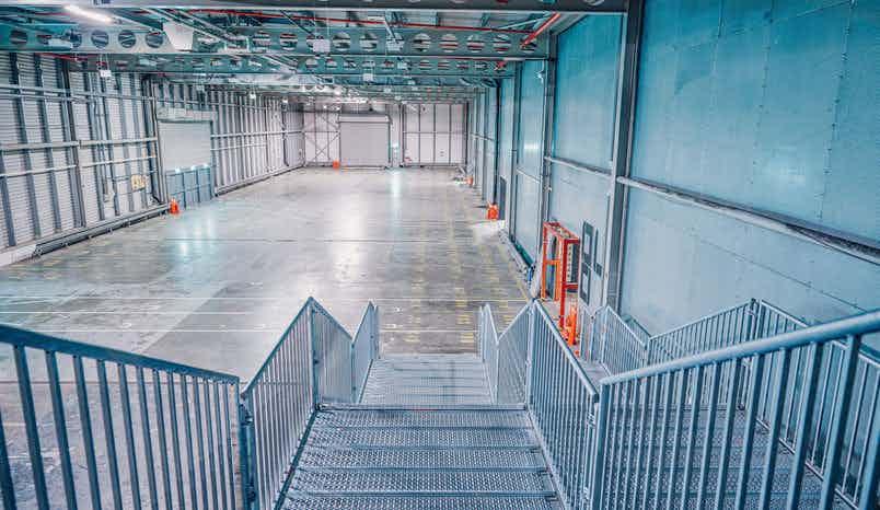 Reel Storage, Printworks London (Created by Venue Lab)