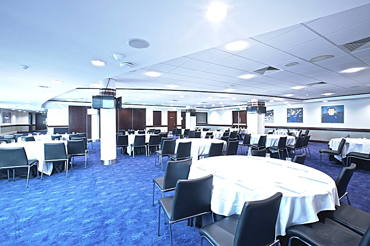 Tambling Suite  **The Tambling Suite at Stamford Bridge is a popular venue for hire at Chelsea Football Club.**