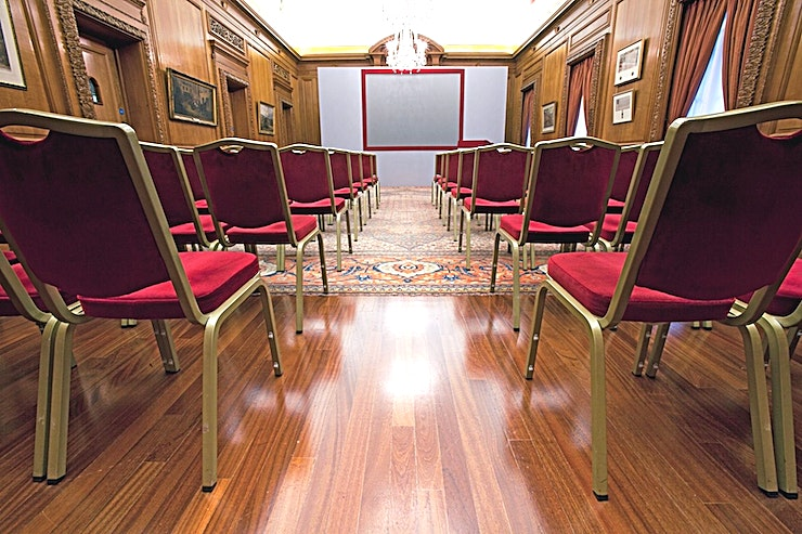Livery Hall **This is the Livery Hall at Brewer's Hall - one of the best options for corporate events London has to offer!**   You will find Brewers' Hall secreted away in a quiet square in the heart of the Cit