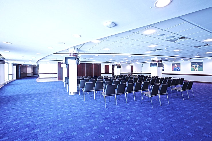 Clarke Suite **Hire the Clarke Suite at the Chelsea Football Club for your next corporate event venue hire.**   Purpose-built event facilities with all of the modern amenities one can come to expect for events o