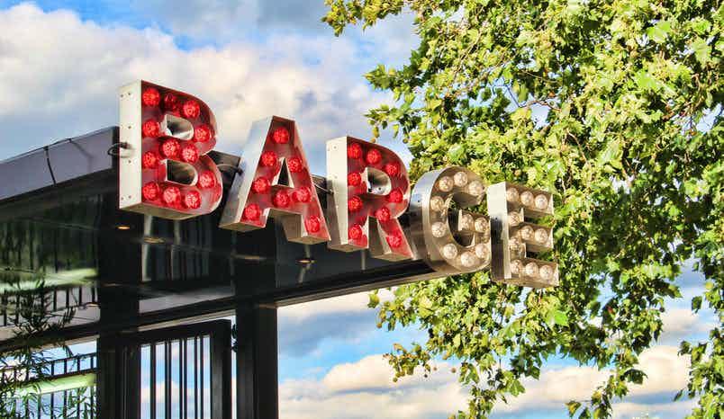 Whole venue hire, Battersea Barge