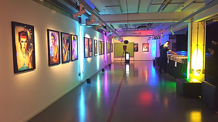 Mezzanine Gallery **Please note, our capacities will be temporarily reduced due to Social Distancing Measures enforced by the Government in line with the COVID-19 Pandemic**   **Hire the Mezzanine Gallery at the Rich M