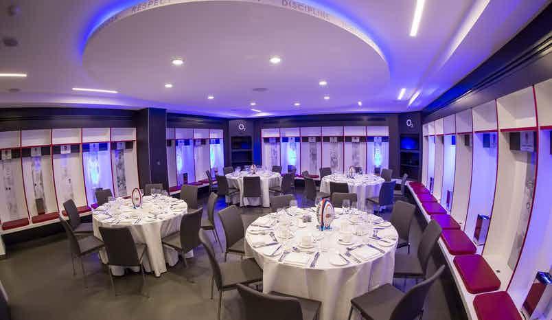 England Changing Rooms, Twickenham Stadium