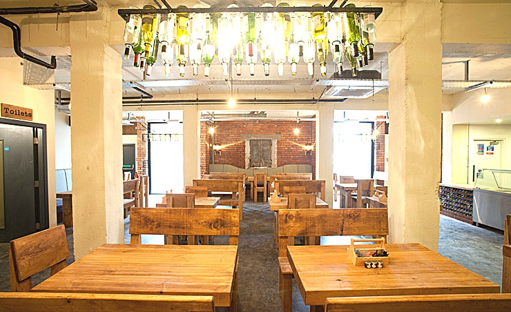 The Skyhook  **Hire the Skyhook at the Victoria Warehouse for one of the best party venues Manchester has to offer!** 