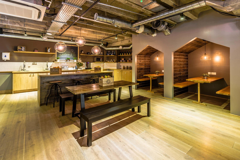 Cafe Venue, Proper Office