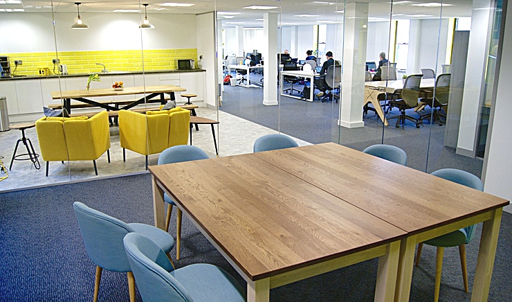 altspace Meeting Room **Hire the altspace Meeting Room at the altspace Coworking Office for a fully equipped Manchester meeting room to hire for a productive day out of the office.** 