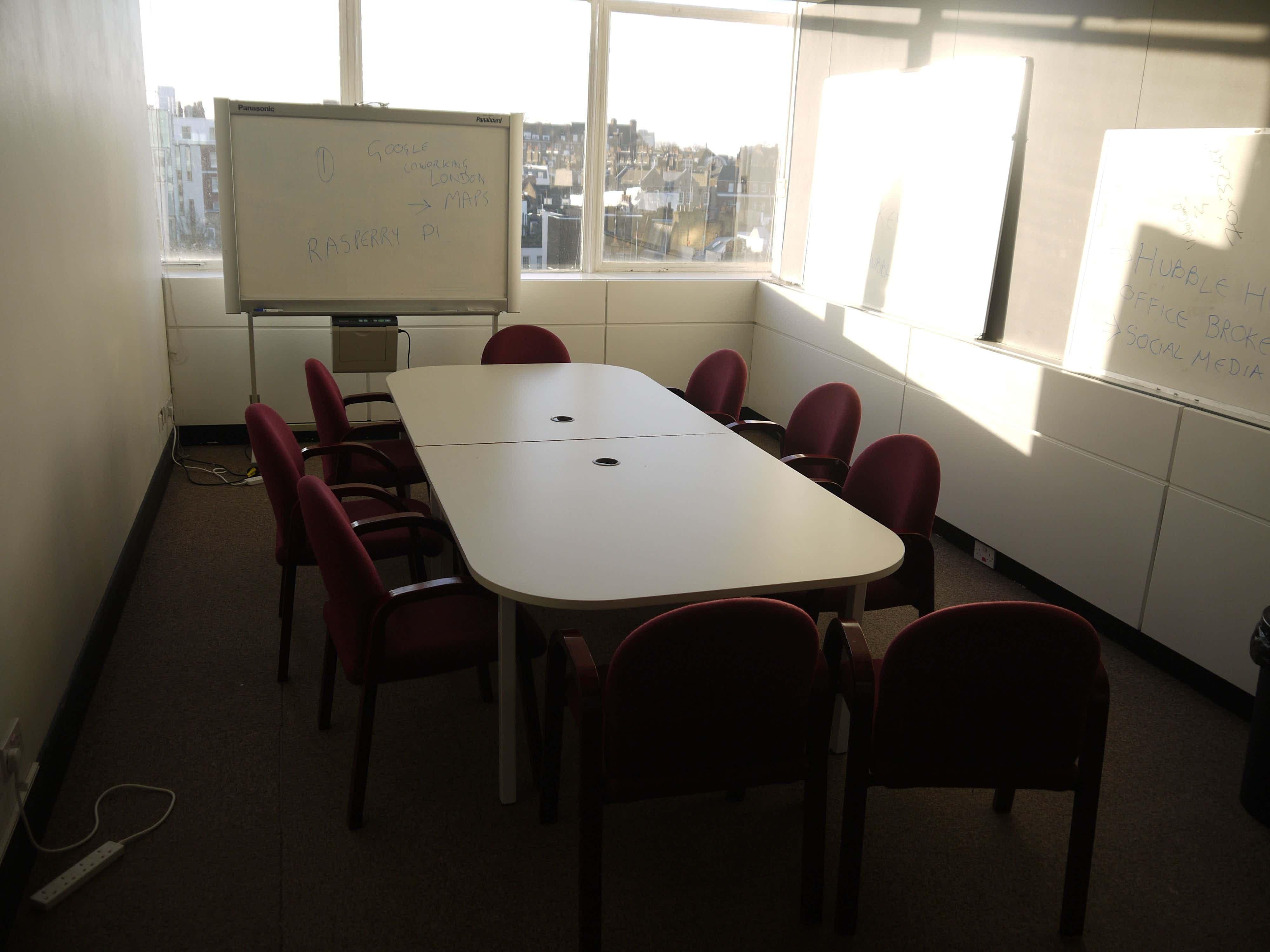 Boardroom, Cowork Hub Notting Hill