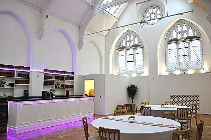 Venue hire **Hire the Zellig at The Old Library for one of the best options for venue hire Birmingham has to offer!**  The Old Library is a beautifully restored Victorian building and is the last remaining of Birmingham's five original Free Library's opened in 1866. The main space is a light and airy space flooded with natural daylight. Full of period features including vaulted ceilings and iconic arch windows, this space will conduct a positive and warm atmosphere ensuring you have a stimulating and productive event with us.   Our personable events team are on hand from enquiry to event to ensure that your event is successful and memorable.