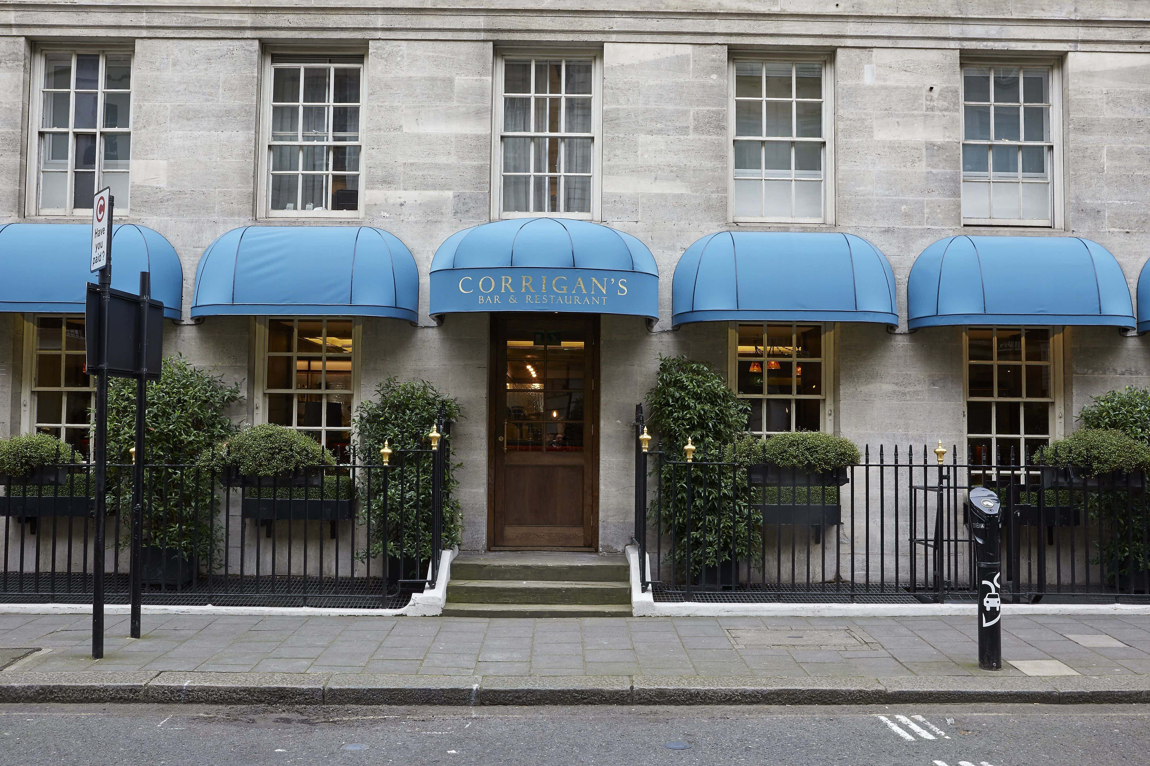 Exclusive Hire, Corrigan's Mayfair