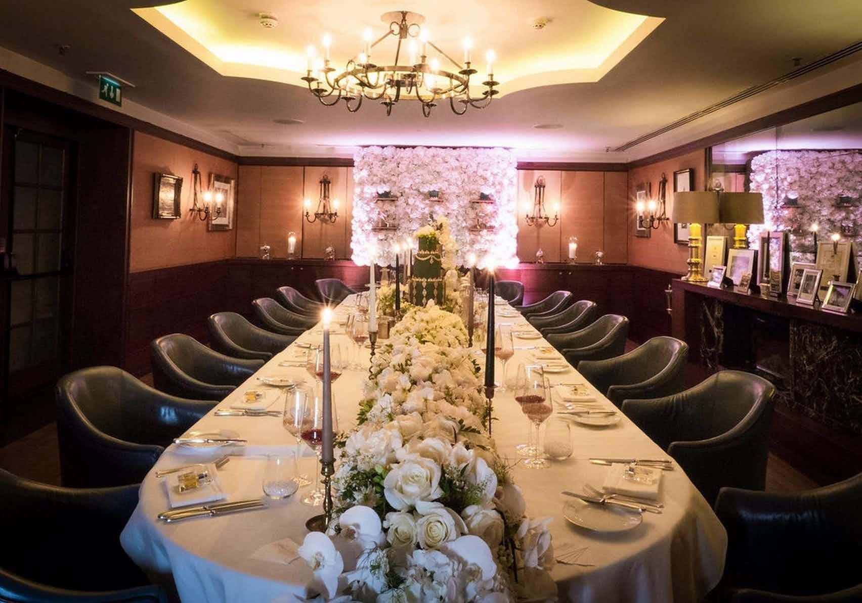 Lindsay Room, Corrigan's Mayfair