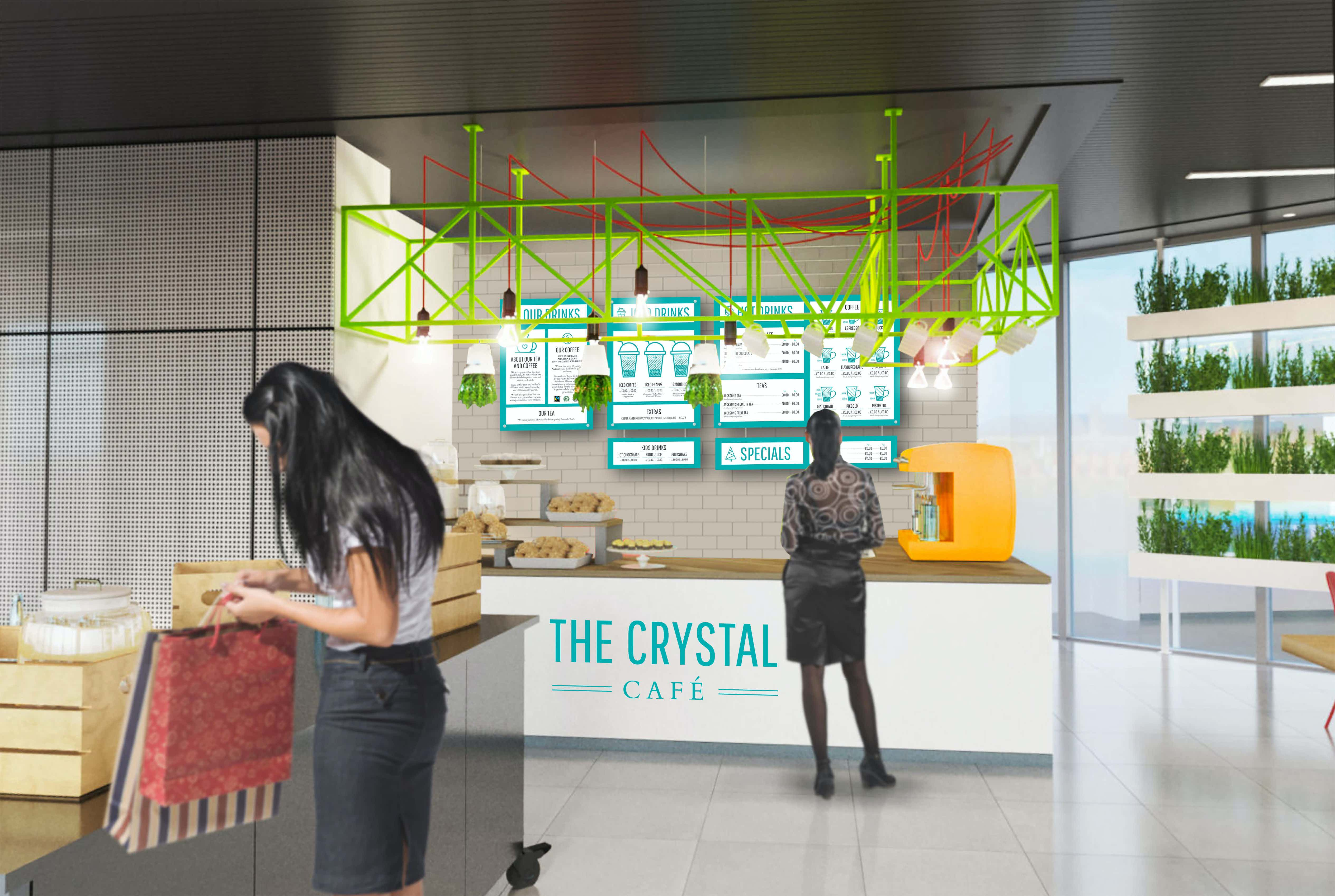The Cafe , The Crystal