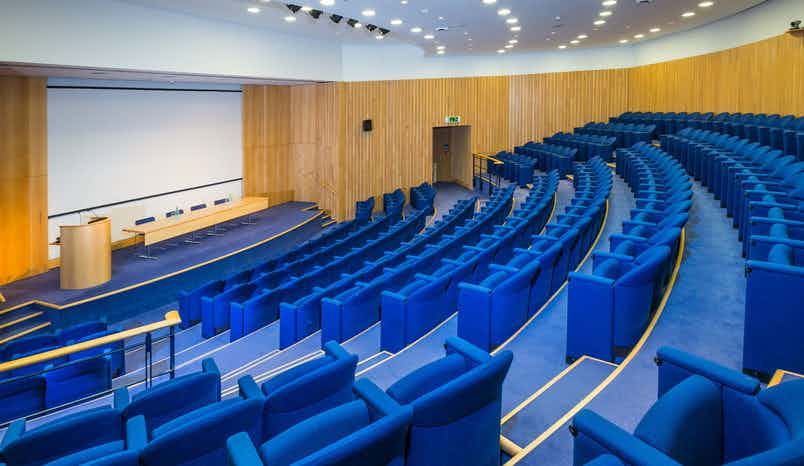 Lecture Hall, Rooms on Regent's Park