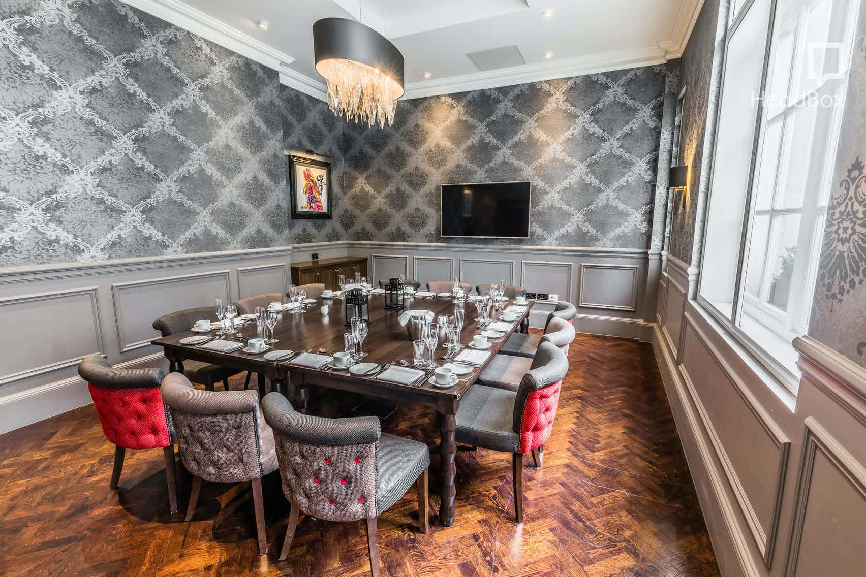 Private Dining Room, The Courthouse Hotel Shoreditch