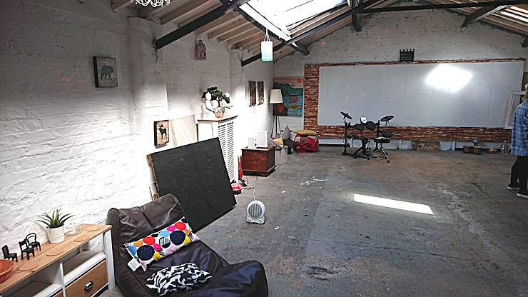 Attic **On the lookout for a large quirky 1st-floor attic space to hire? You've come to the right place!** 