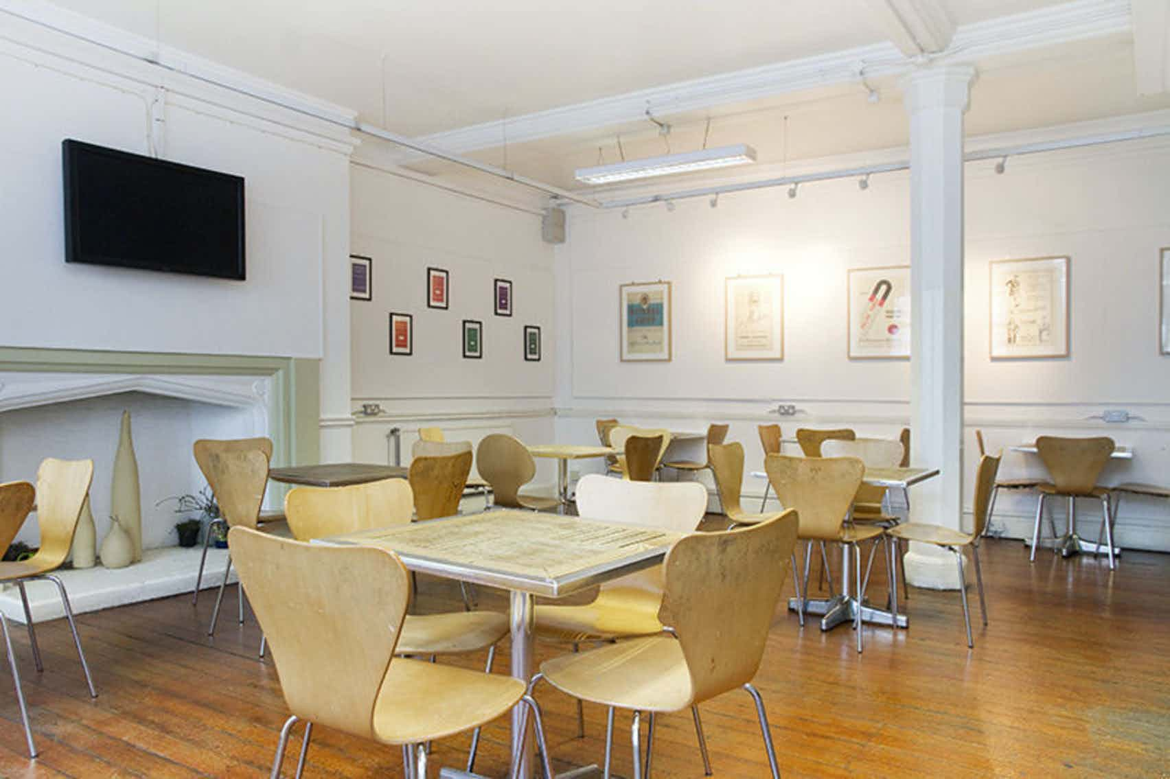 Cafe, Oxford House