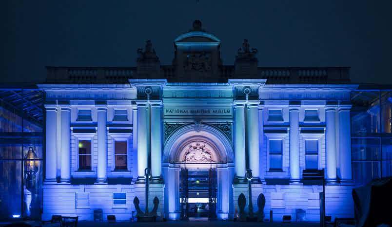 Neptune Court , The National Maritime Museum