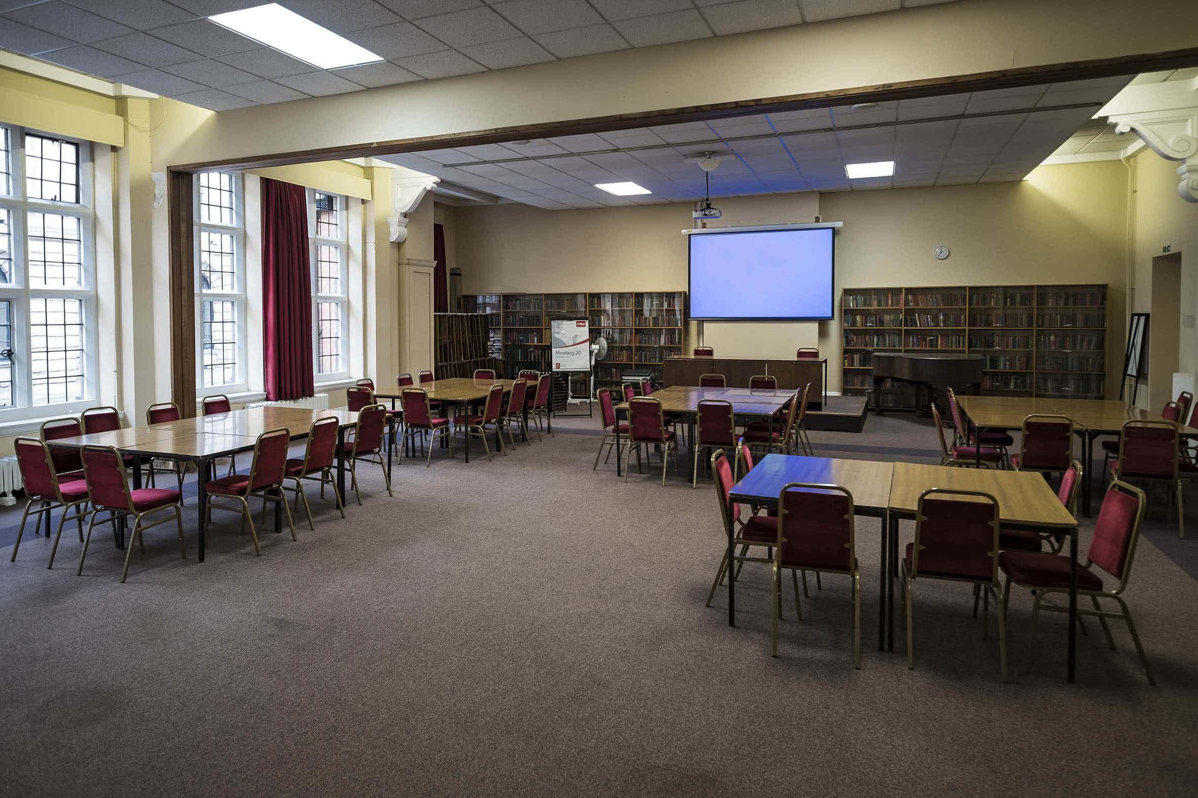Dickens Room, The Birmingham and Midland Institute