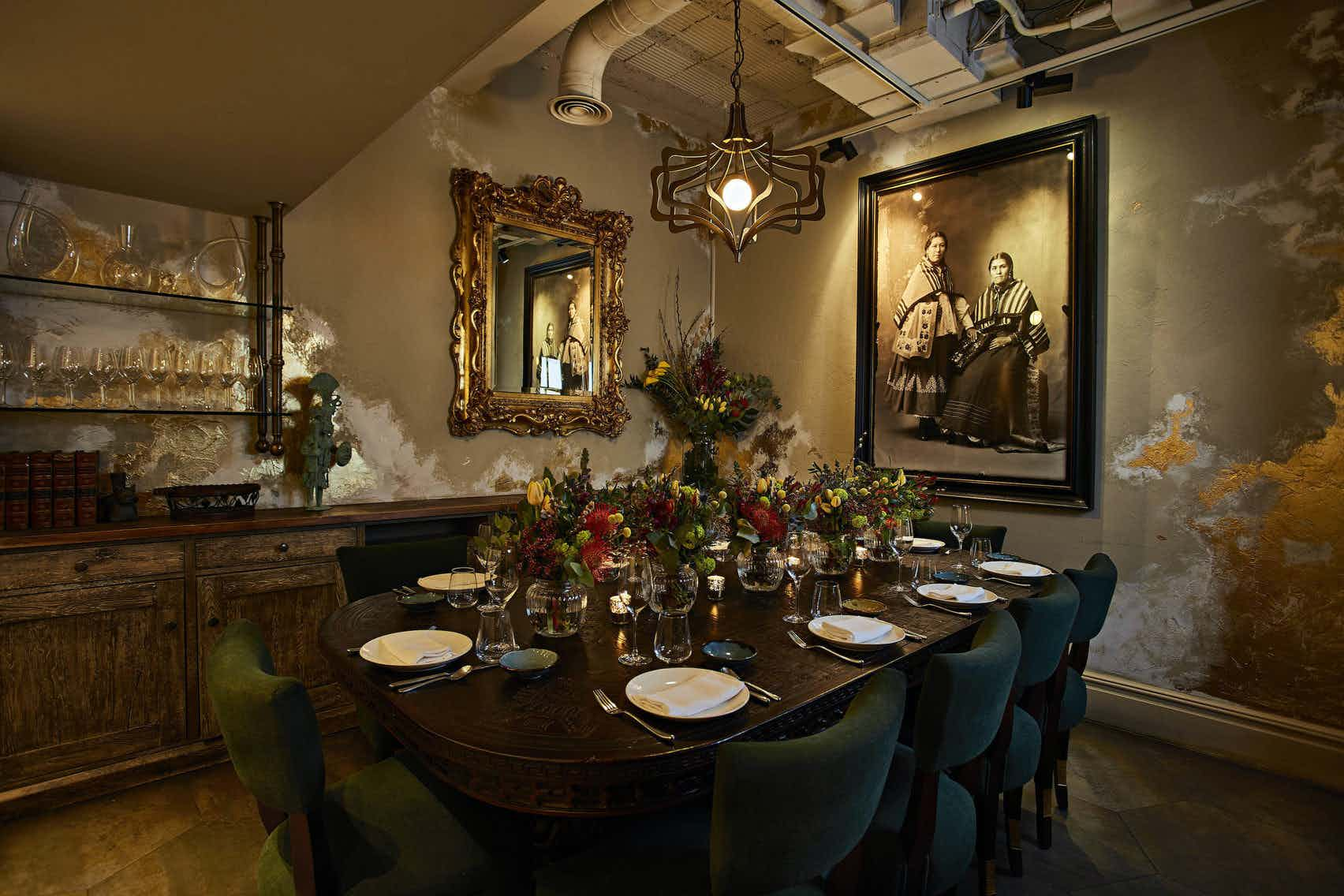 Private Dining Room, COYA Mayfair