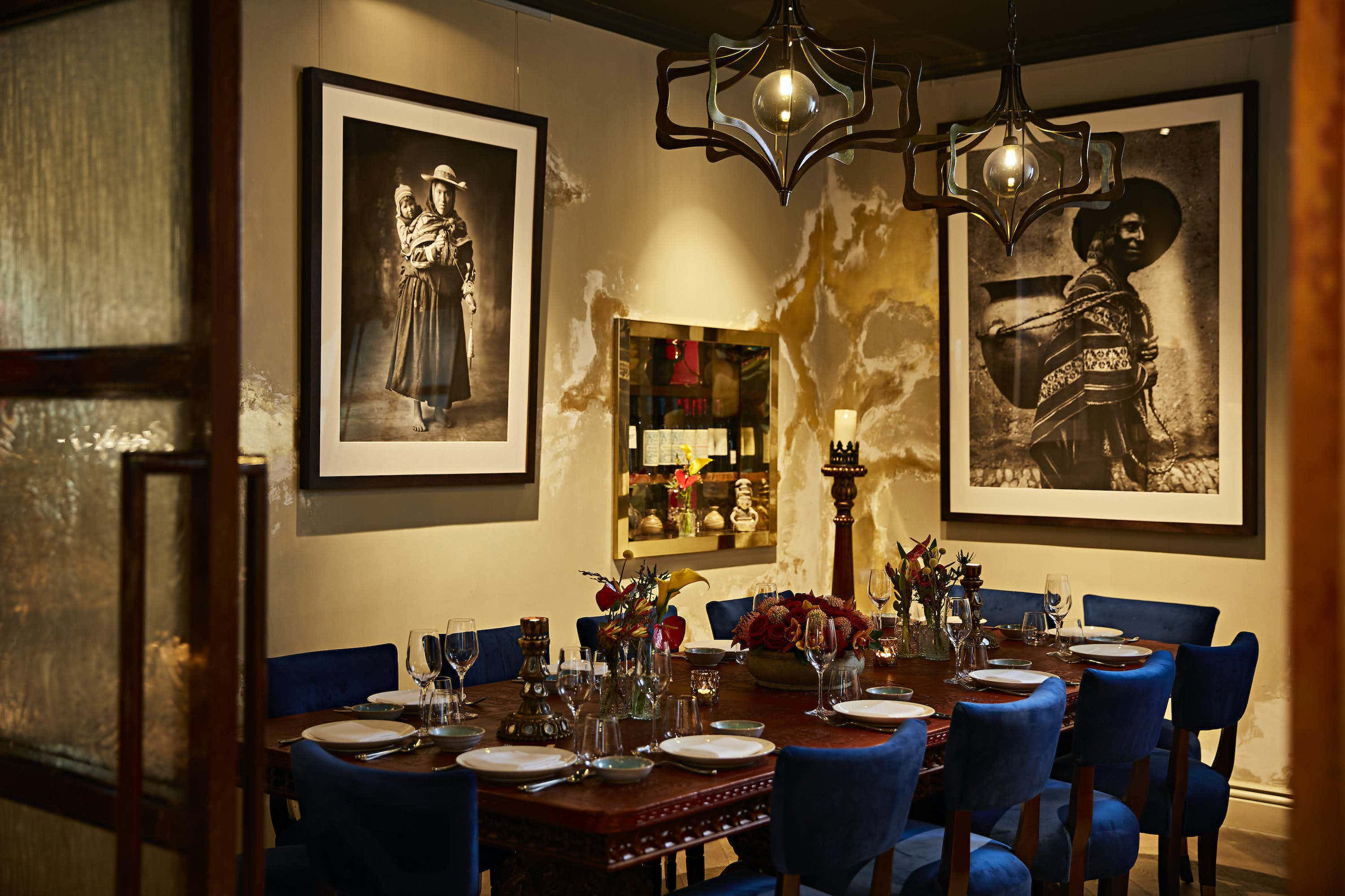 Private Dining Room, COYA Angel Court