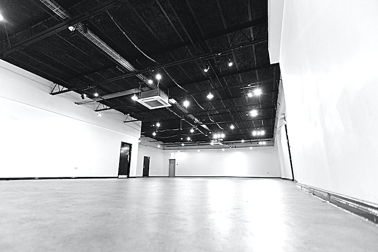 Exhibition Hall Exhibition hall - recently refurbished open space with toilet and kitchen facilities. Available for hire for various event set ups.  The space also includes the option of use with our chairs and tables for various event functions.   Venue use :- Business : meetings/seminars, conferences, workshops/training Parties : Birthday parties, Corporate events, Summer parties Pop-up : Product promotion, product distribution pop-up shops Art & Culture : exhibitions, rehearsals, performances, dance practice
