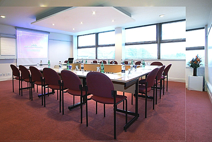 Conference Room 1  **Hire Conference Room 1 at St Giles Heathrow - a St Giles Hotel that's perfect for your next corporate venue hire.** 