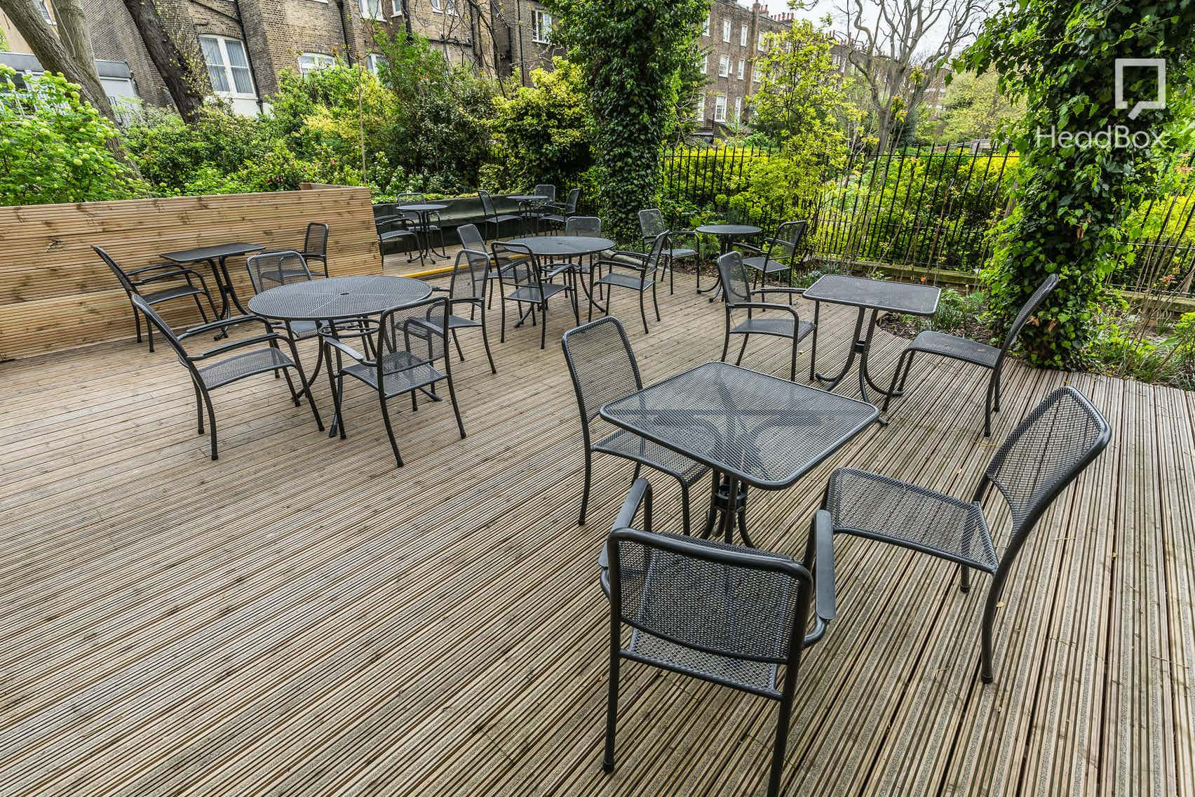 The Terrace, CIEE, Russell Square