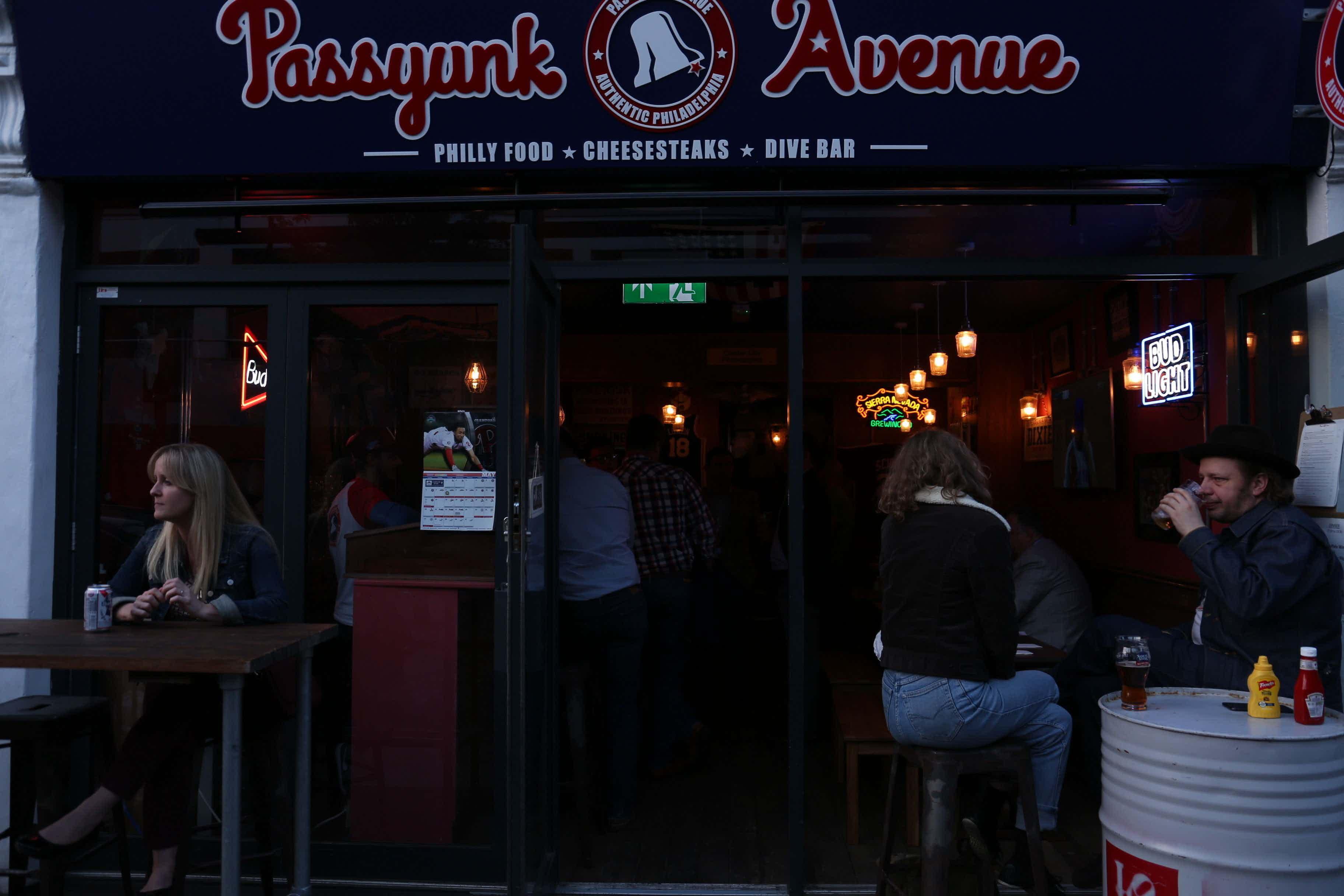 Nick Foles Bar, Passyunk Avenue